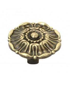 Matte Brass Button