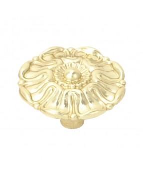 Glossy Brass Button